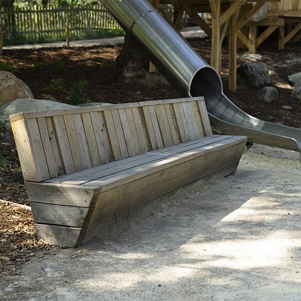 playground equipment benches