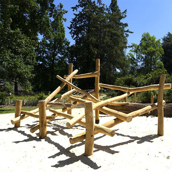 playground equipment log climbing frames