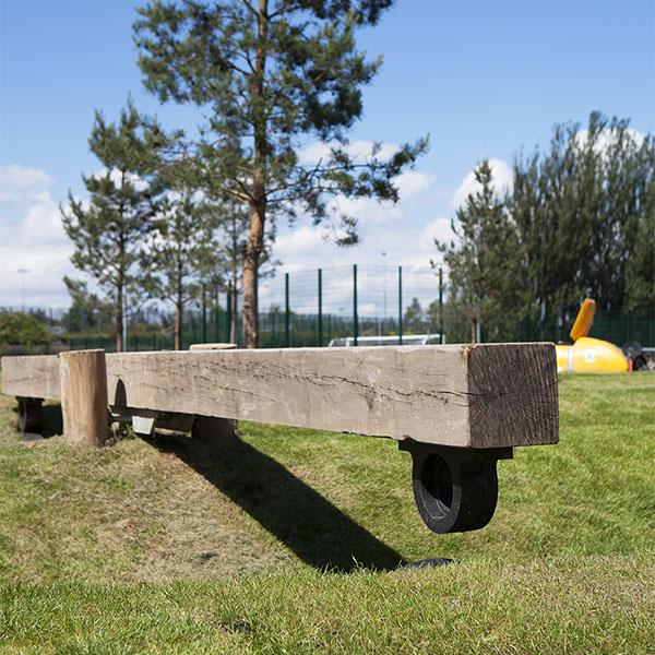 playground equipment seesaw