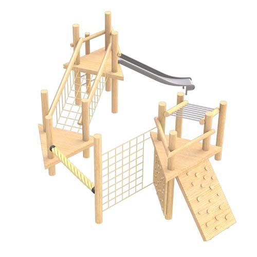 robinia climbing frame no 12
