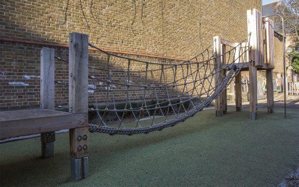 oak climbing frame playground equipment no 17