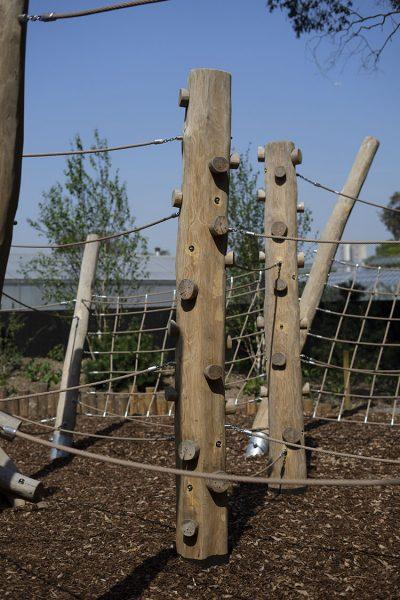 trim trail playground equipment climbing trunk