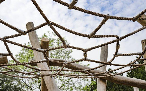 natural log climbing frames