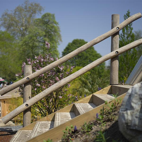 playground equipment handrails