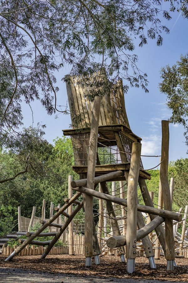 robinia climbing frame playground equipment