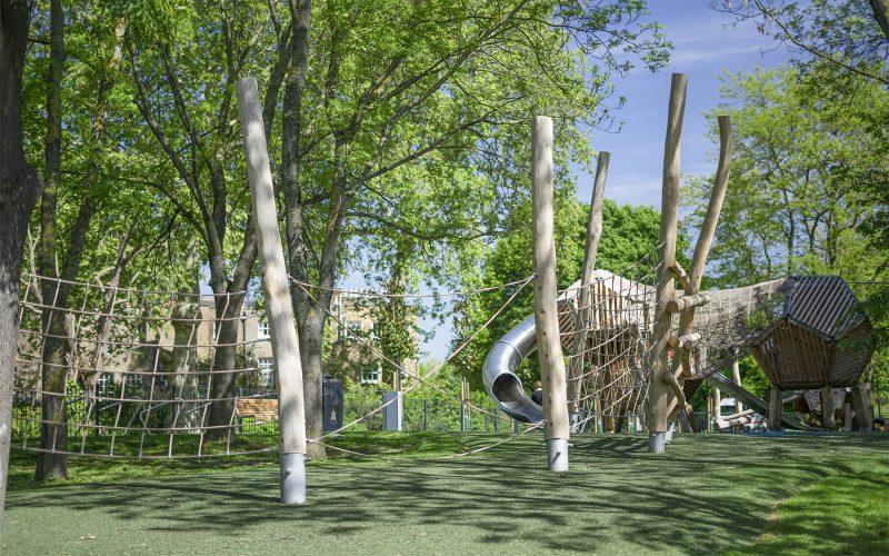 natural playground equipment net trail no.1