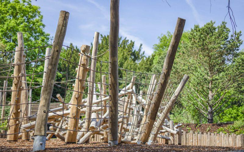 natural playground equipment net trail no.2