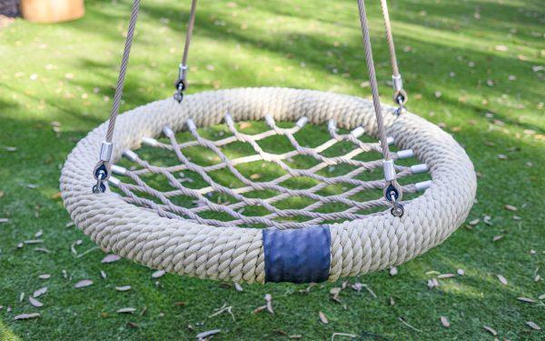 playground swing basket