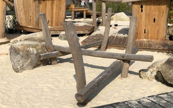 trim trail playground equipment stilted balance beam