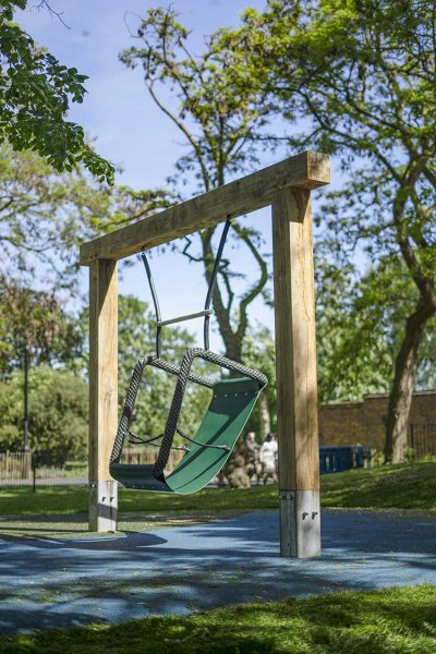 playground swings accessible