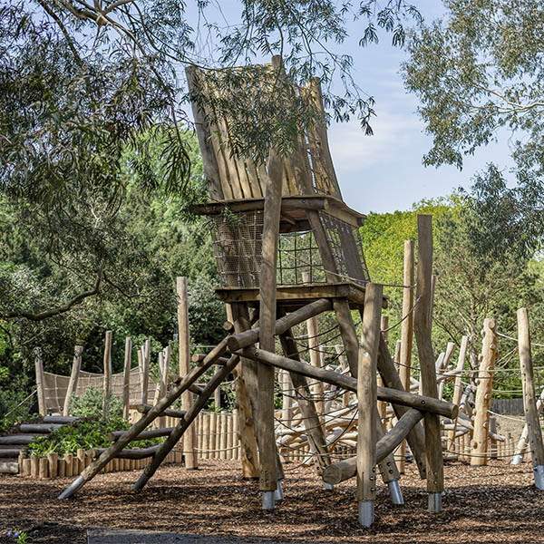 natural playground equipment