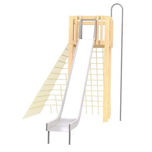 natural playground equipment climbing frames