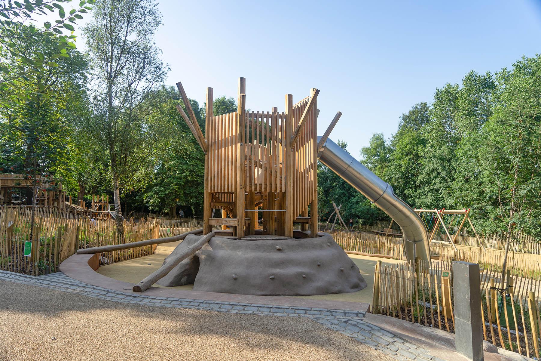 playground equipment holland park