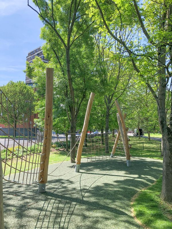 natural playground equipment net trail no 1