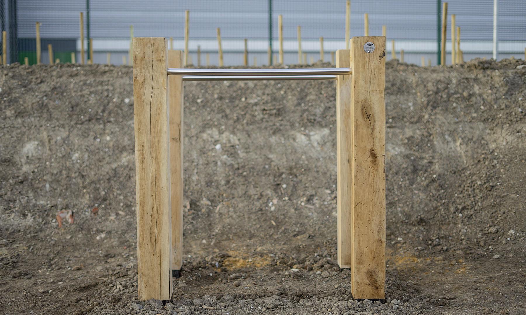 outdoor fitness equipment dip bars