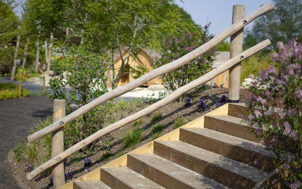 playground handrail
