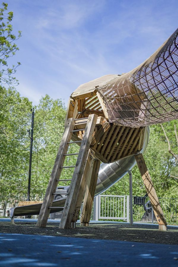 playground equipment burgess park