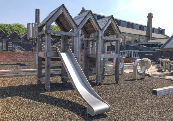 playground equipment chatham dockyard