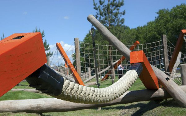 playground equipment drapers field
