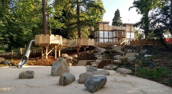 playground equipment hever castle