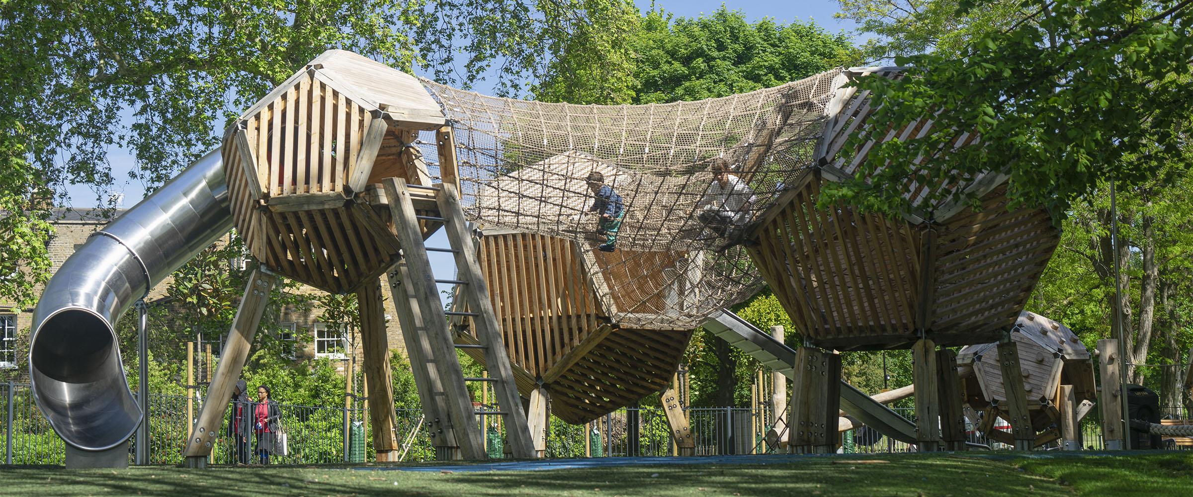bespoke playground equipment burgess park