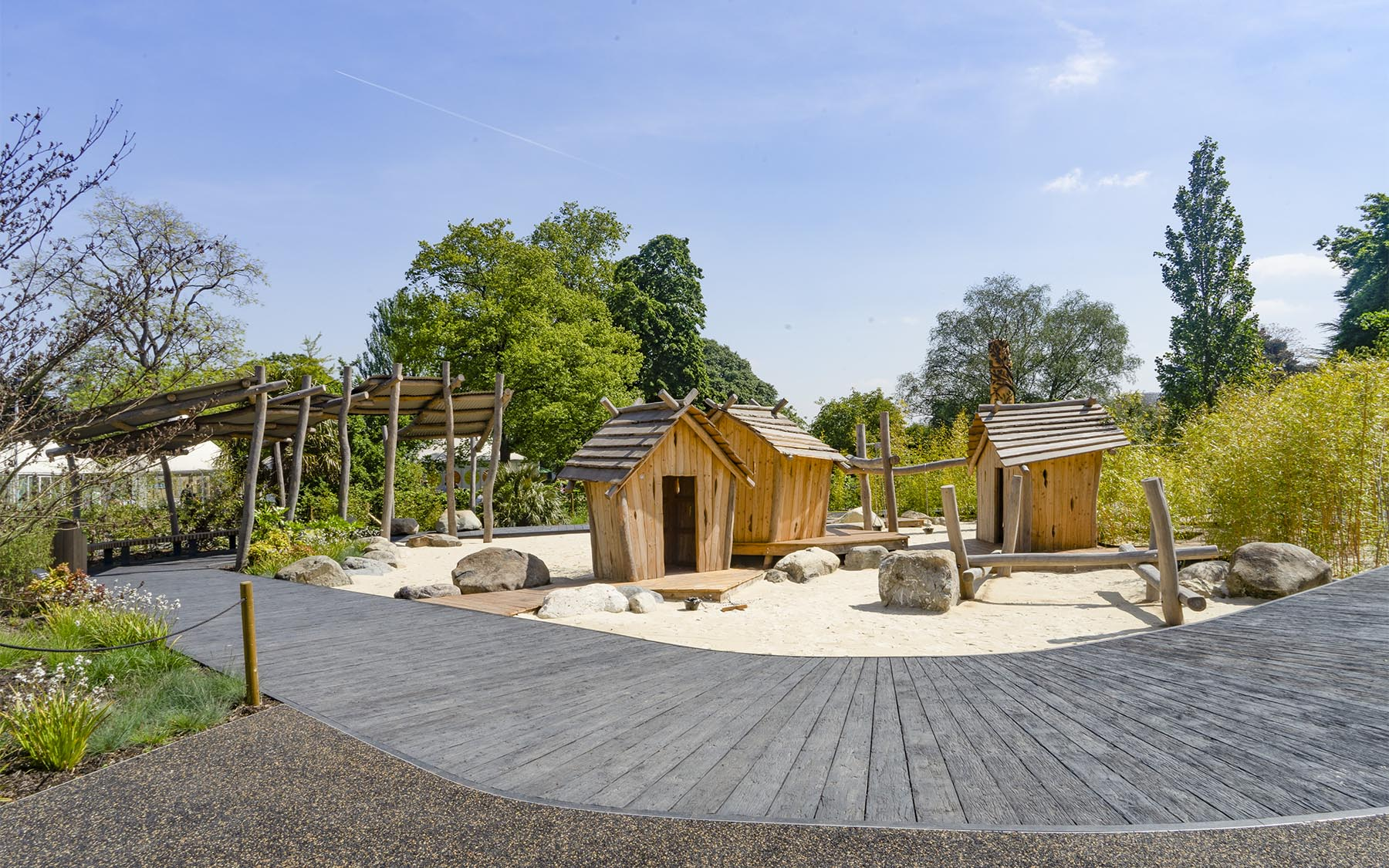 bespoke playgrounds earth garden