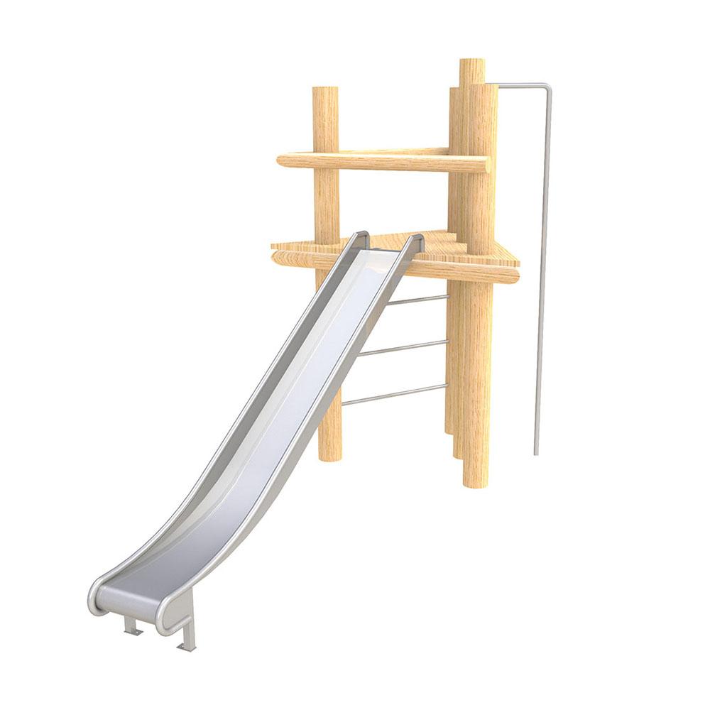 natural playground equipment robinia climbing frames