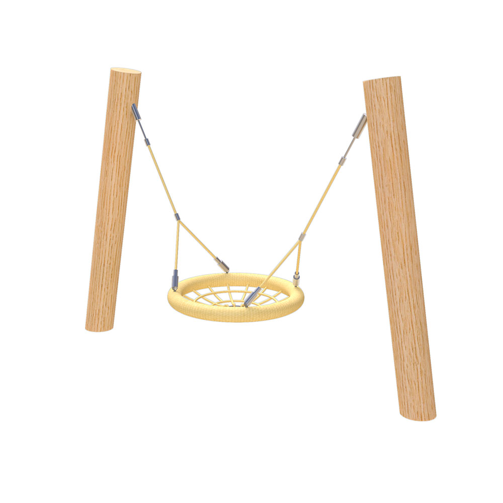 natural playground equipment robinia swings