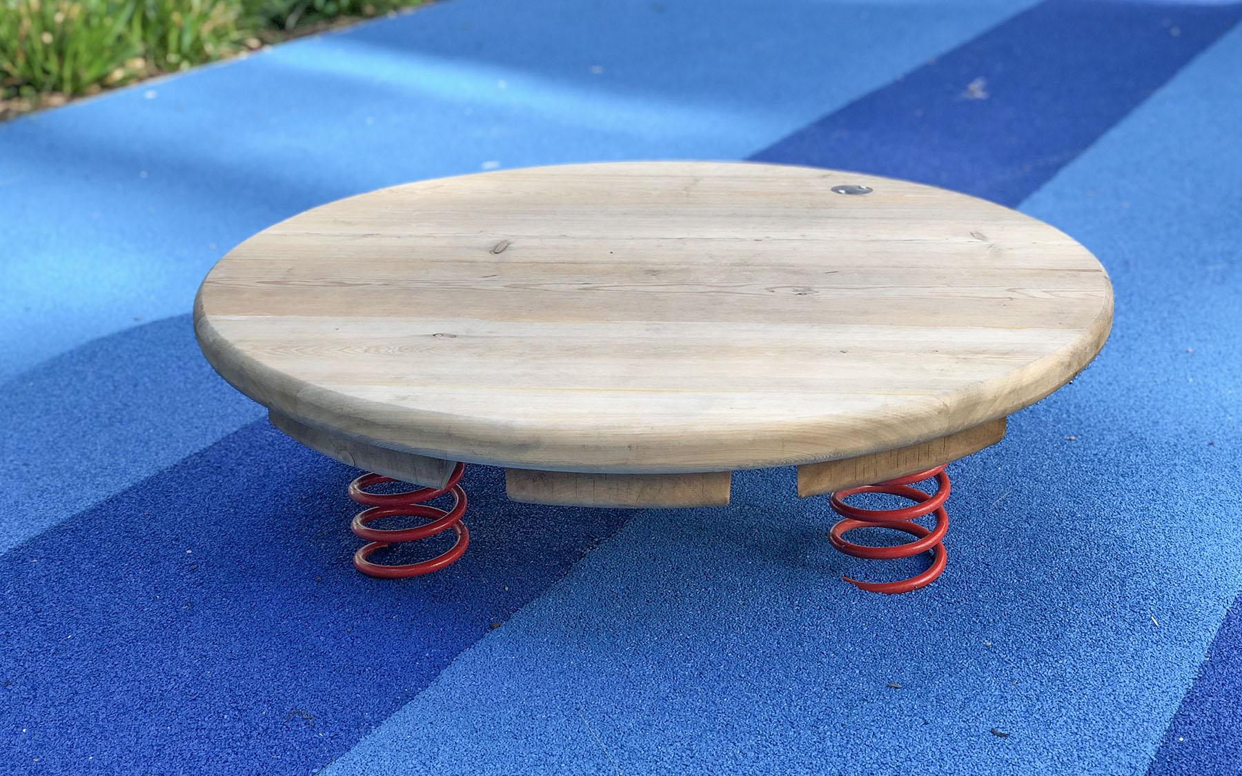 playground equipment jumping discs