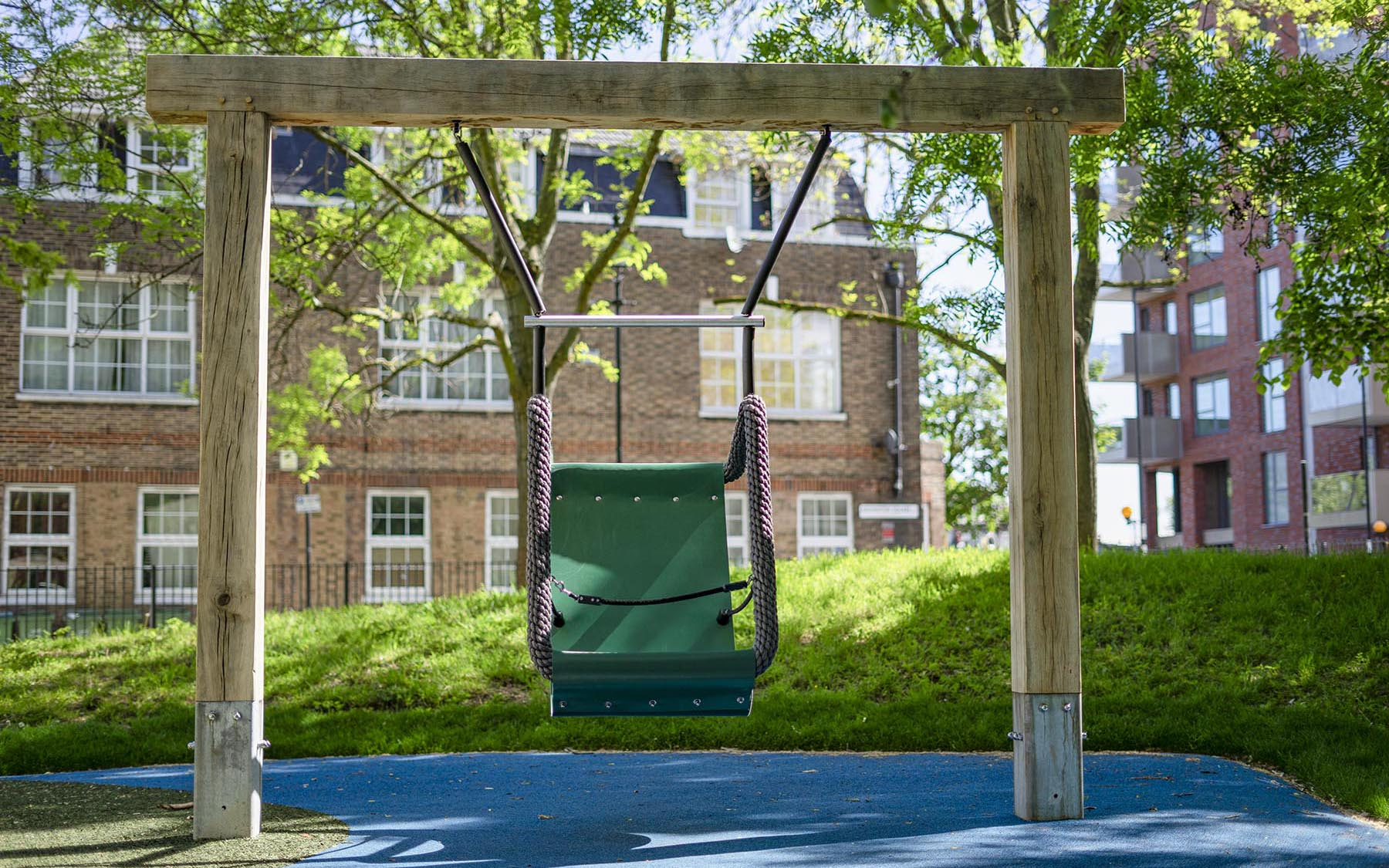 playground equipment oak swings