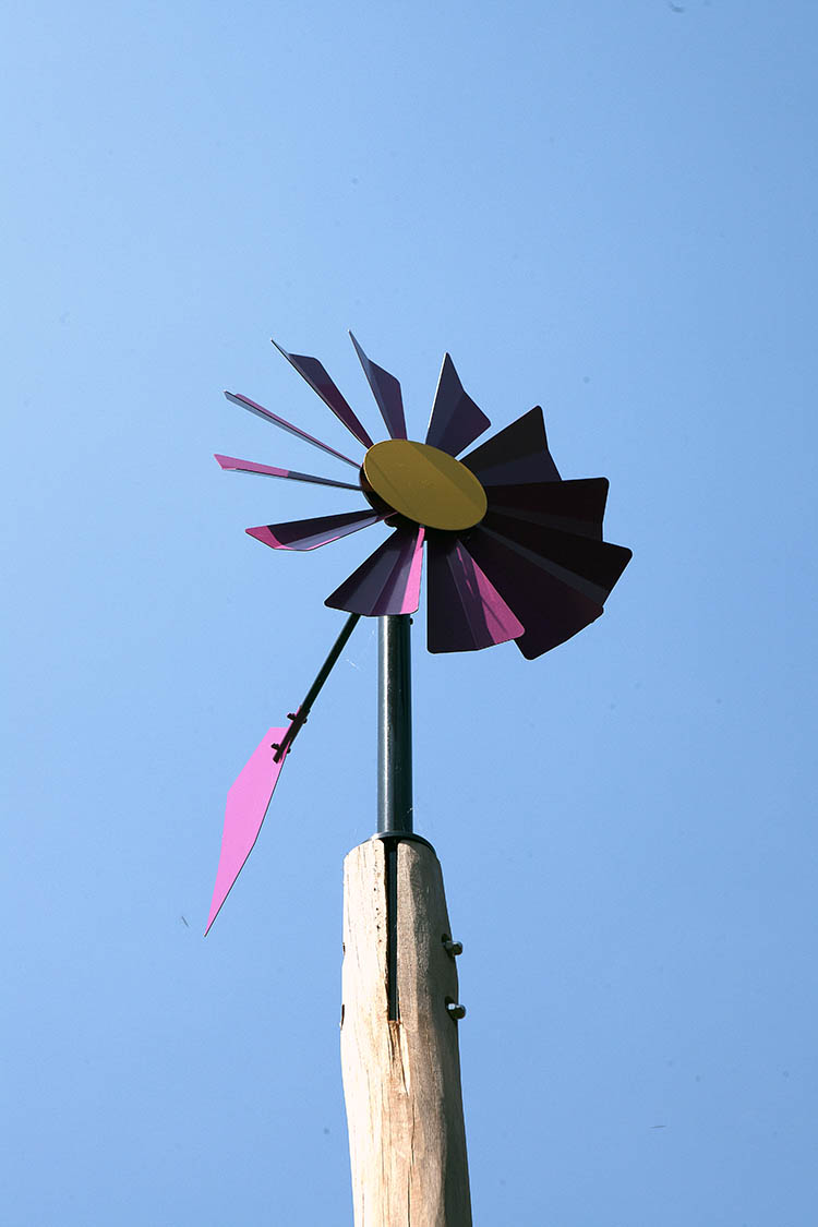 playground equipment windmill flower
