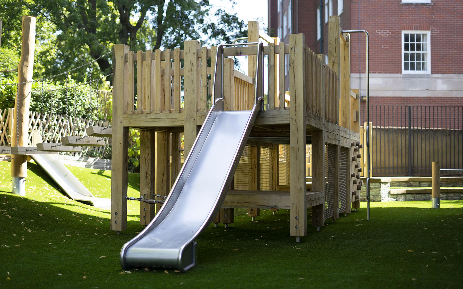playground slides