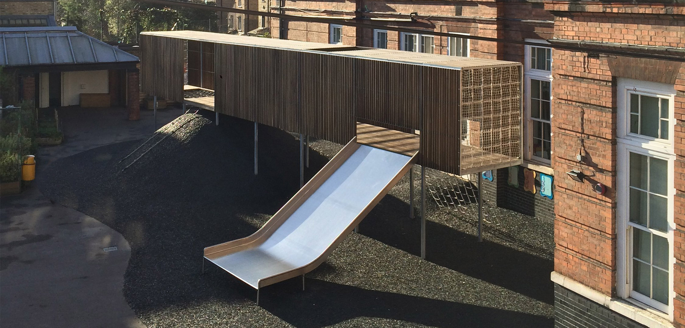 bespoke playground equipment chisenhale primary