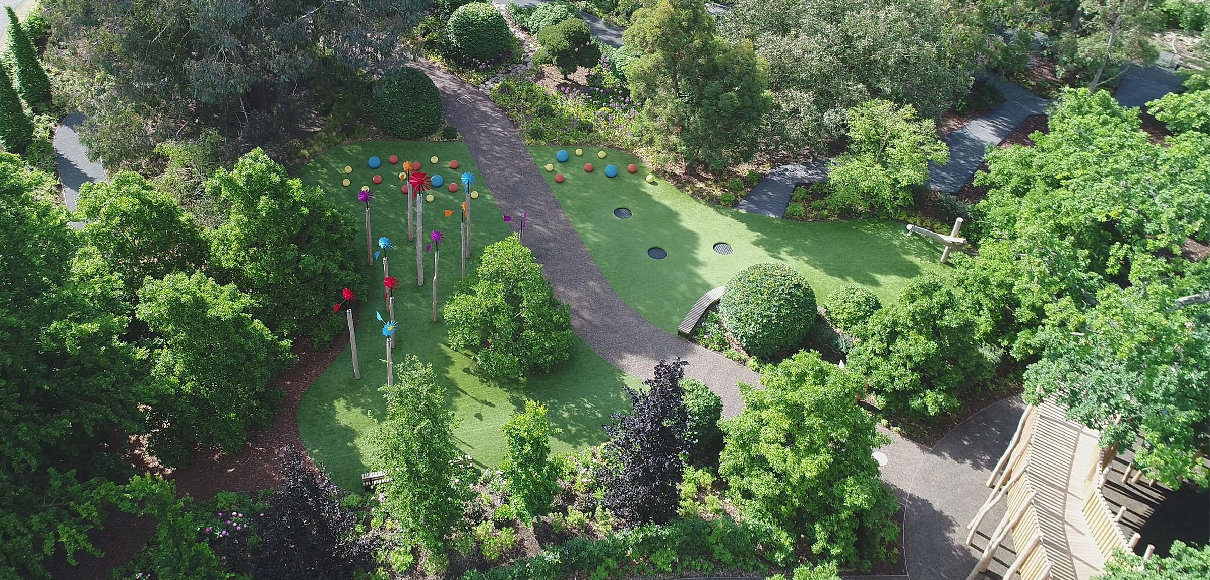 bespoke playgrounds kew gardens