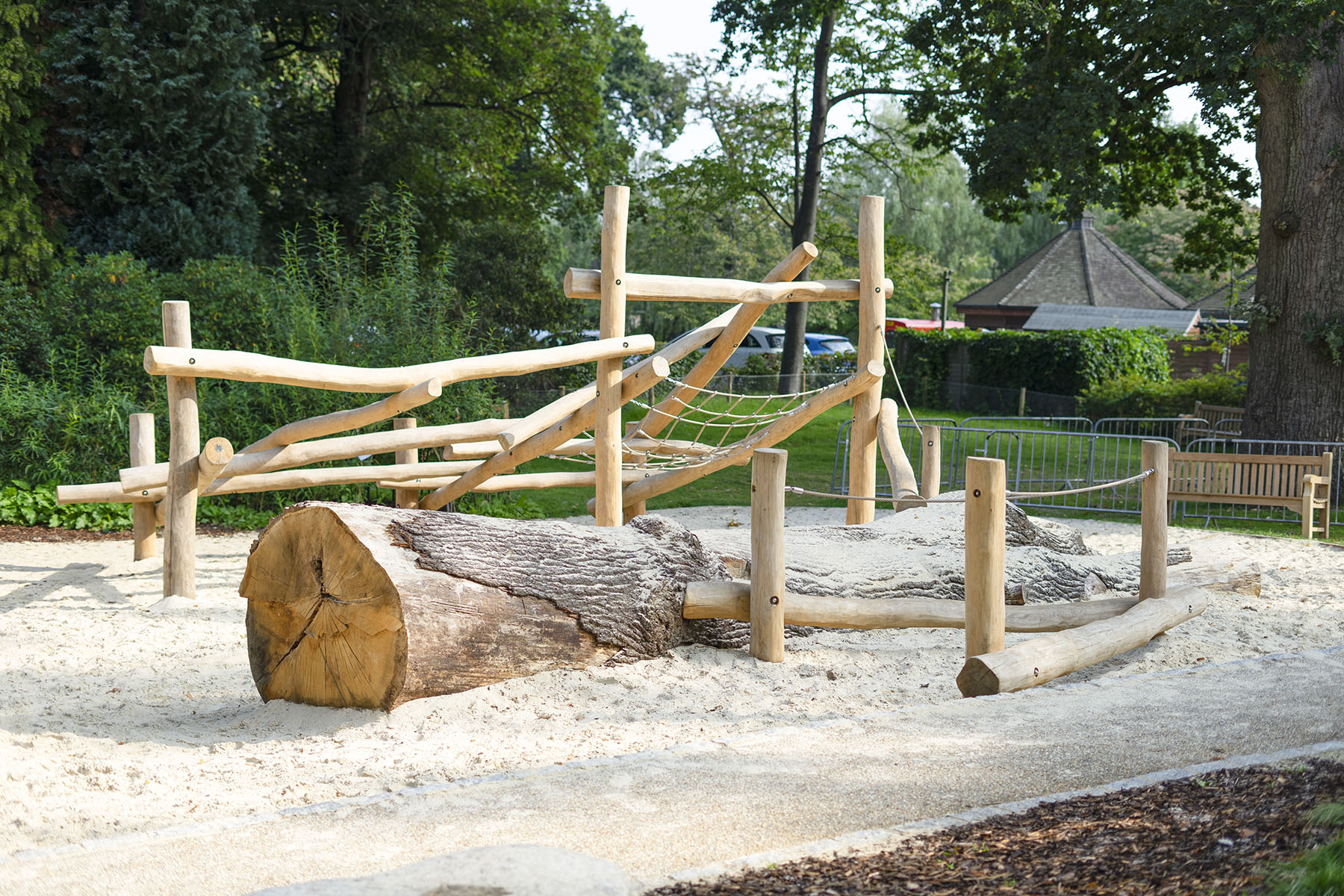 playground design and build hever castle