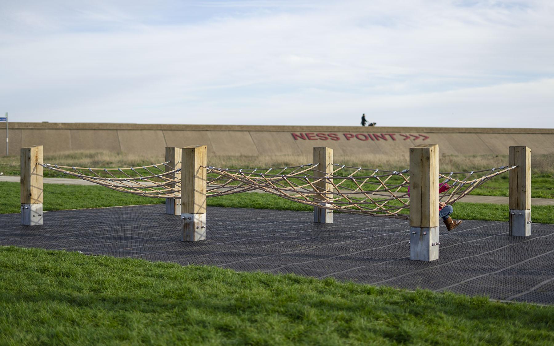 playground equipment climbing nets