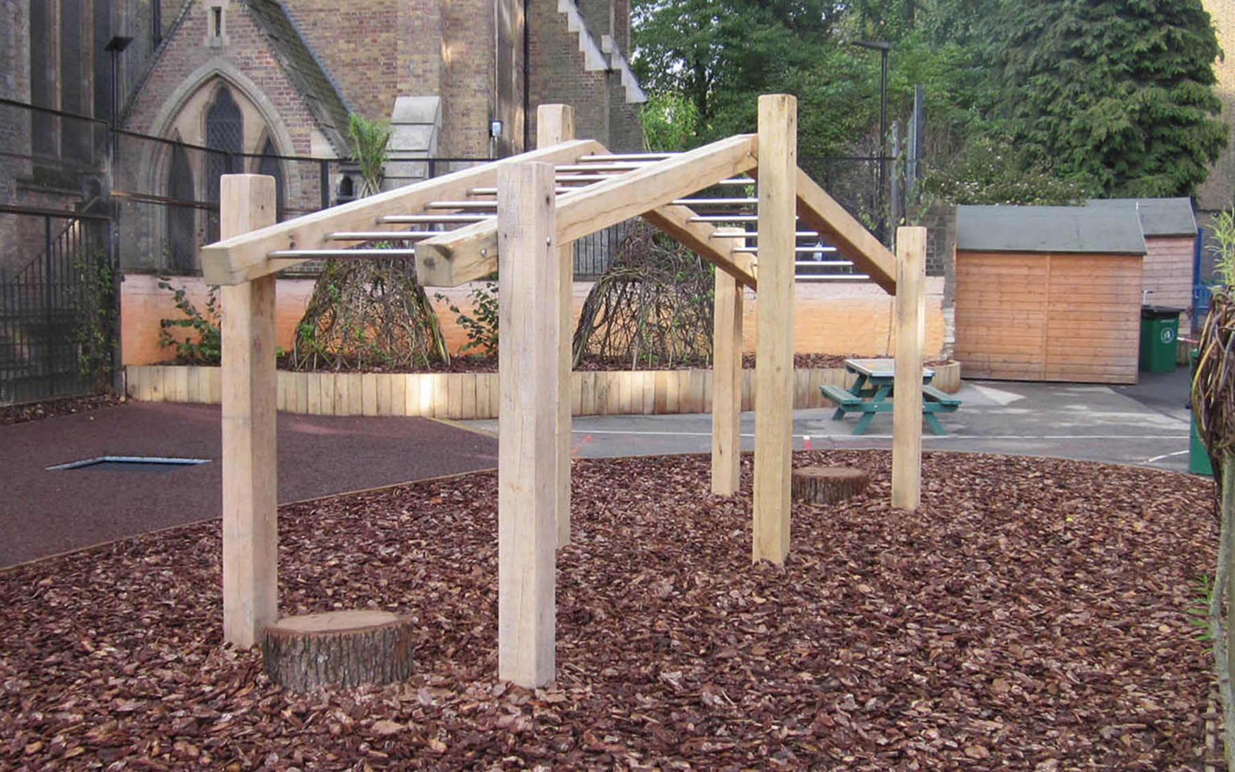 monkey bars playground equipment