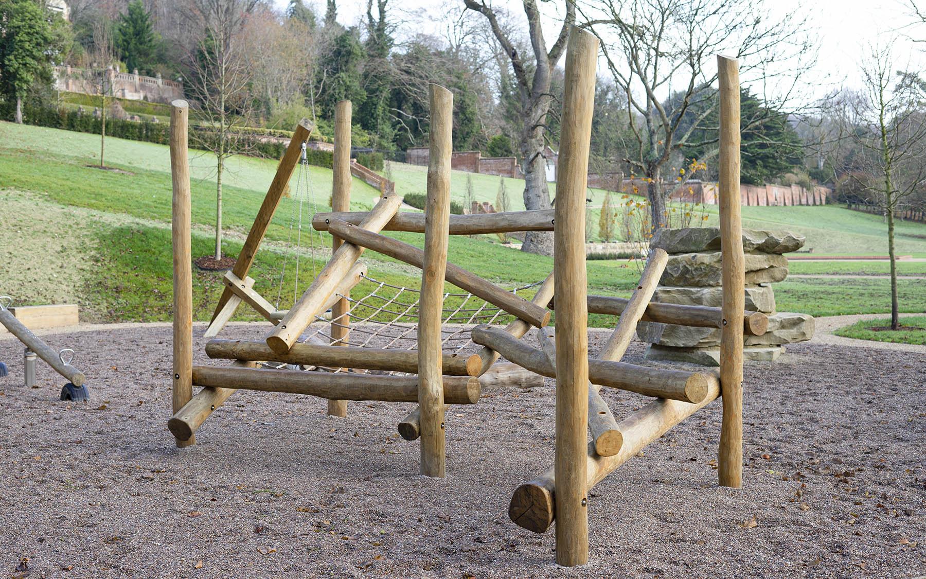 natural playground equipment kearsney park