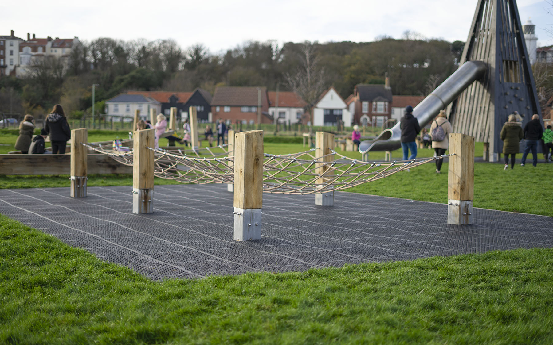 natural playgrounds the ness