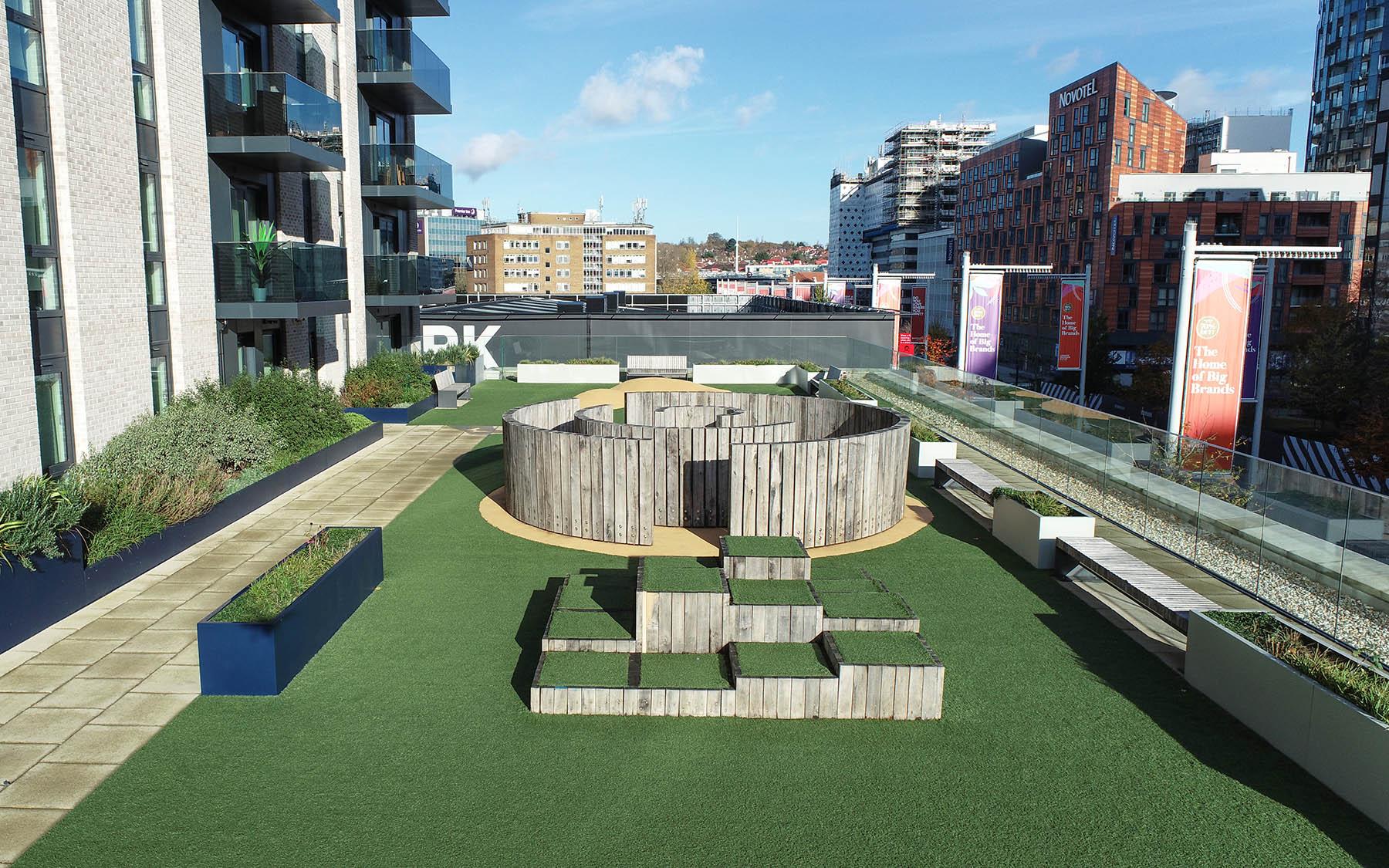 rooftop podium playgrounds